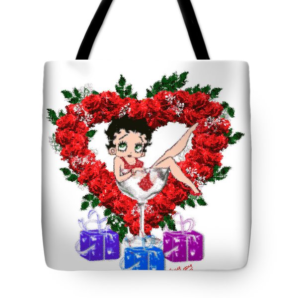Betty Boop 4 Tote Bag by Bruce Nutting