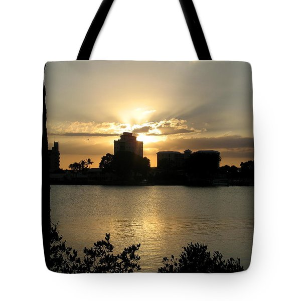 Between Day And Night Tote Bag by Christiane Schulze Art And Photography