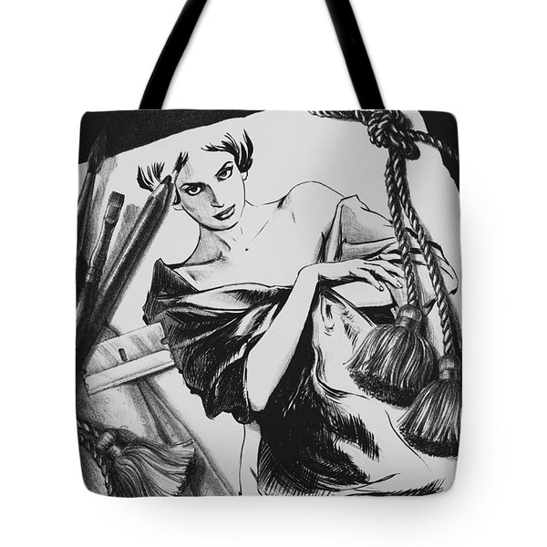 Between Dream And Reality Tote Bag