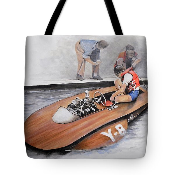 Between Heats Tote Bag by William Walts