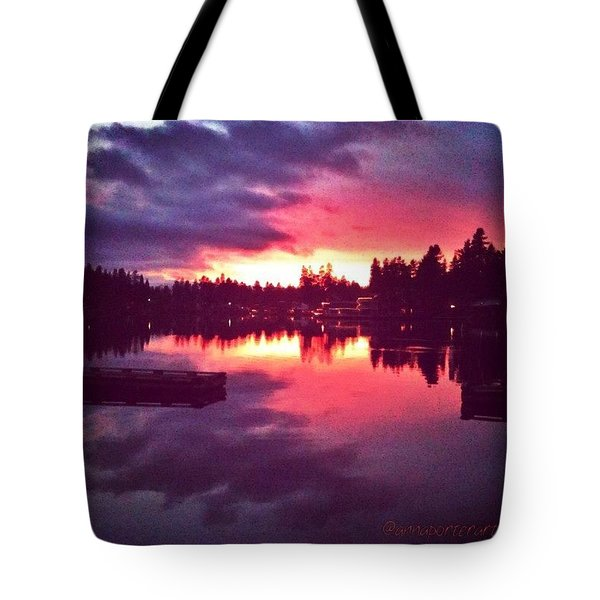 Between Heaven And Earth New Edit Tote Bag