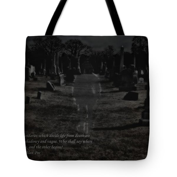 Between Life And Death Tote Bag