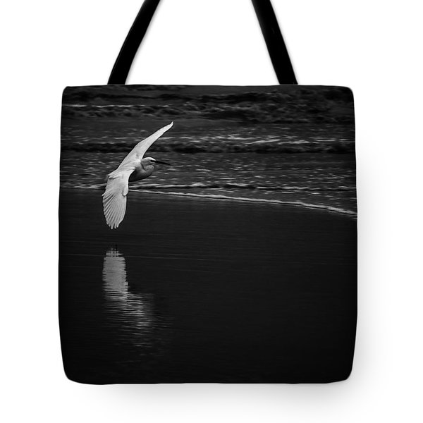 Between Sea And Clouds Tote Bag