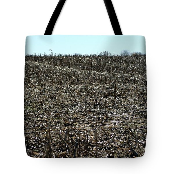Between Sky And Field Tote Bag by Joseph Yarbrough
