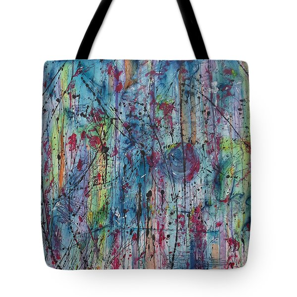 Between The Doubt Tote Bag by Ronda Stephens