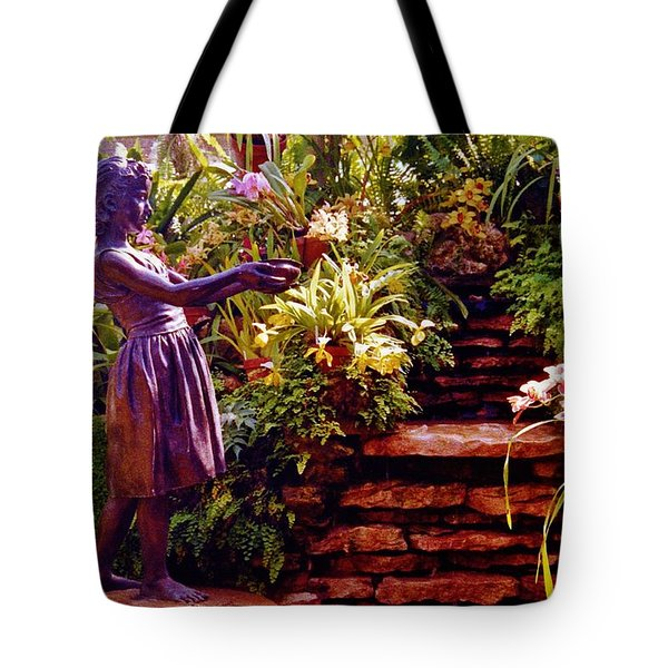 Between The Steps Tote Bag