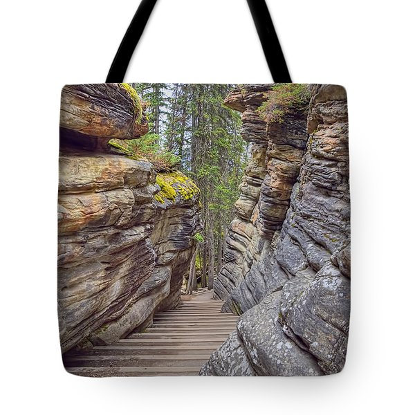 Between The Stones Tote Bag