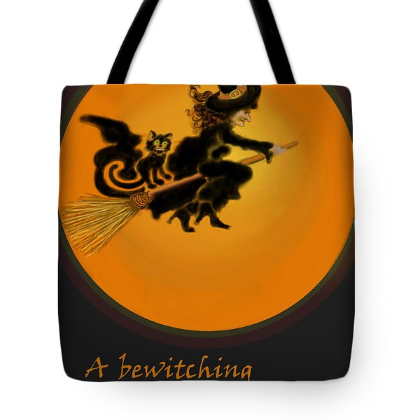 Betwitched Tote Bag by Carol Jacobs