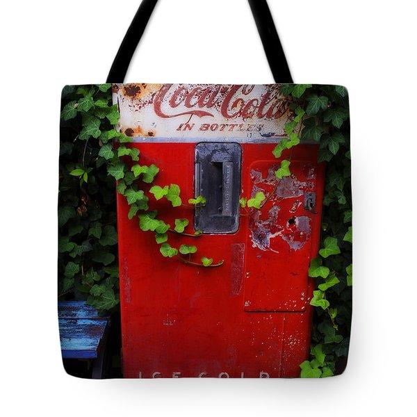 Austin Texas - Coca Cola Vending Machine - Luther Fine Art Tote Bag