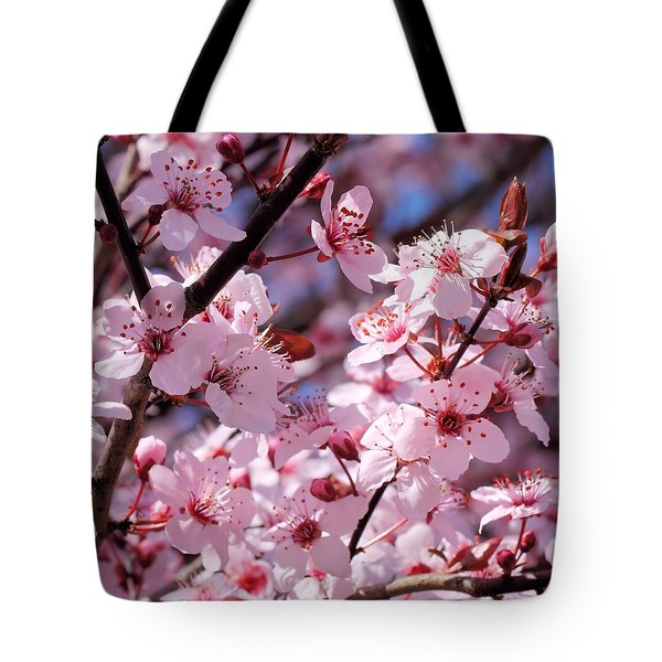 Bevy Of Blossoms Tote Bag