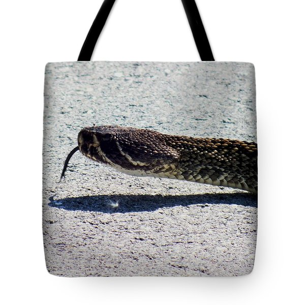 Beware Of Me Tote Bag by Karen Wiles
