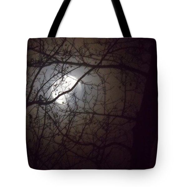 Tote Bag featuring the photograph Beware The Rougarou Moon by John Glass