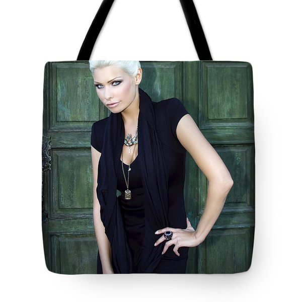 Bewitching Beauty Palm Springs Tote Bag by William Dey