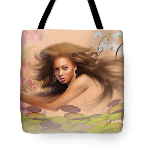 Beyonce's Dream Tote Bag by Angela A Stanton