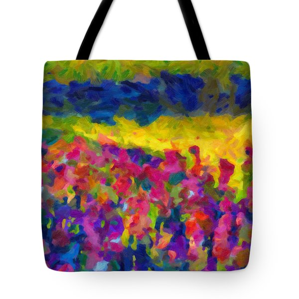 Tote Bag featuring the painting Beyond A Simple Love by Joe Misrasi