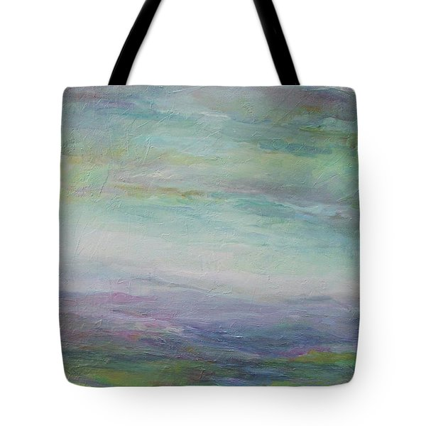 Beyond The Distant Hills Tote Bag