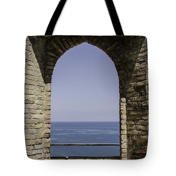 Beyond The Gate Of Infinity Tote Bag by Andrea Mazzocchetti