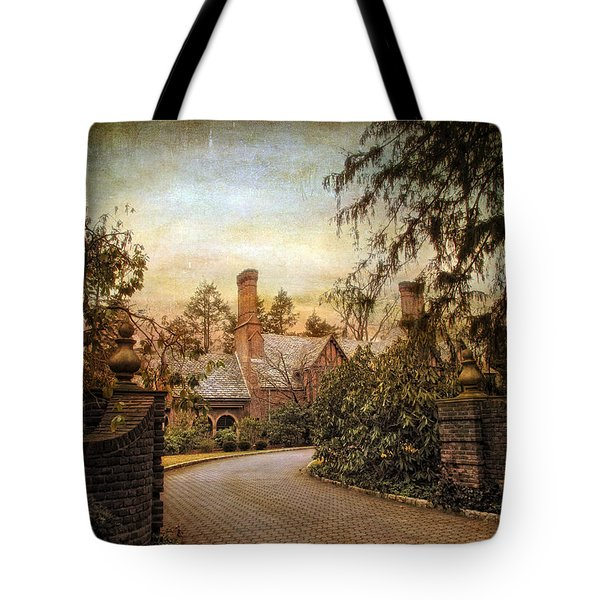 Beyond The Gates Tote Bag by Jessica Jenney