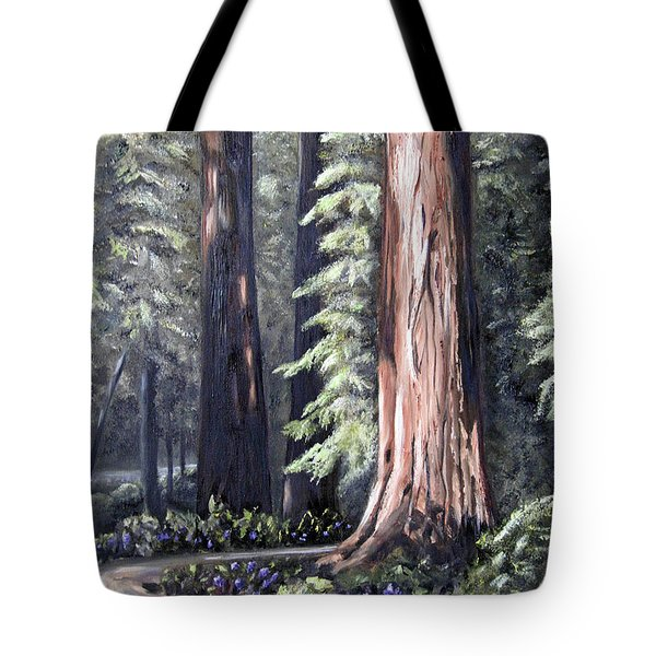 Beyond The Path Tote Bag