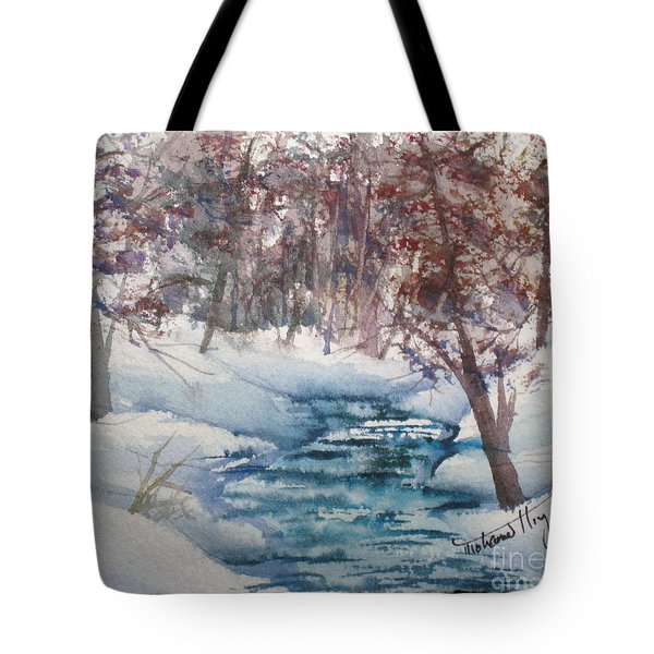 Beyond The Pond Tote Bag by Mohamed Hirji