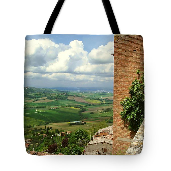 Beyond The Rooftops 2 Tote Bag by Ellen Henneke