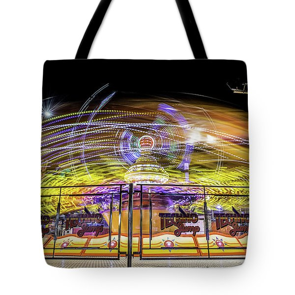 Beyond The Safety Fence Tote Bag by Ray Warren
