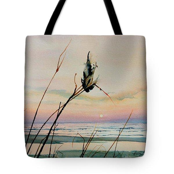 Beyond The Sand Tote Bag by Hanne Lore Koehler