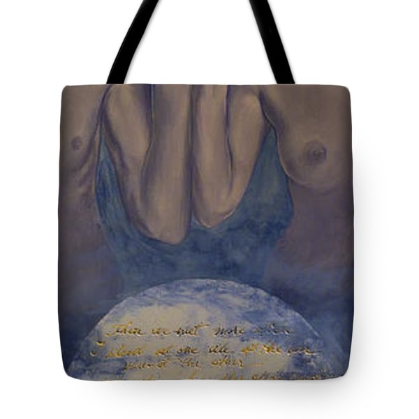 Beyond The Universe Tote Bag by Dorina  Costras