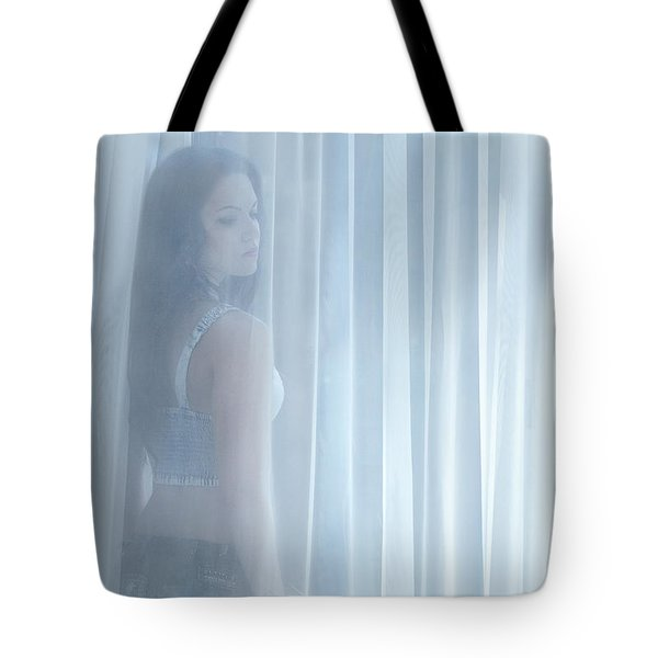 Beyond The Veil Of Light Tote Bag