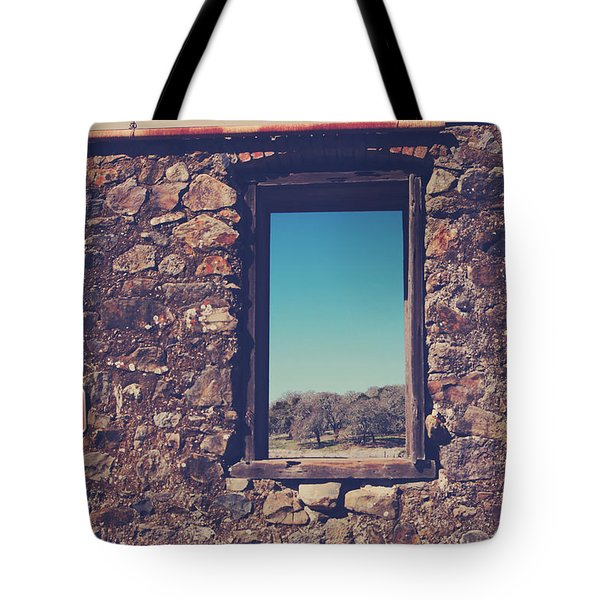 Beyond These Walls Tote Bag by Laurie Search
