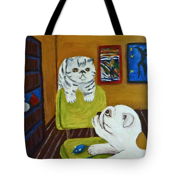 Bffs Tote Bag by Victoria Lakes