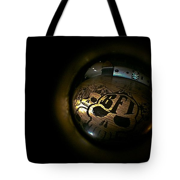 Tote Bag featuring the photograph Bfi  by Joel Loftus