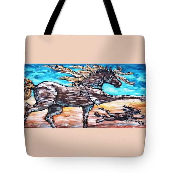 Bhound To Get There Tote Bag