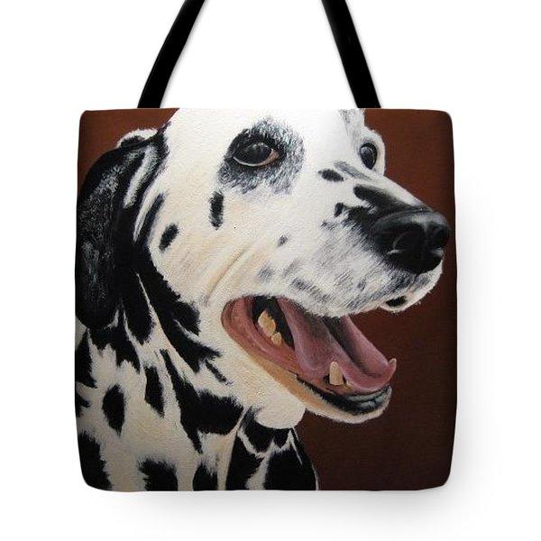 Bianca Rob's Dalmatian Tote Bag