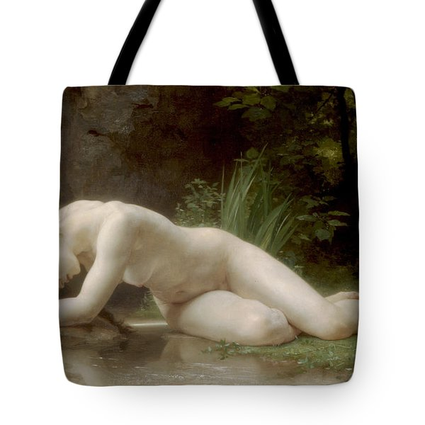 Biblis Tote Bag by William Bouguereau