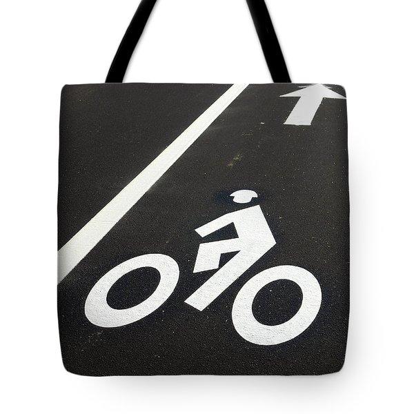 Bicycle Lane Tote Bag