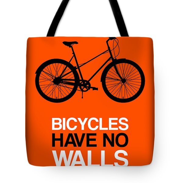 Bicycles Have No Walls Poster 1 Tote Bag