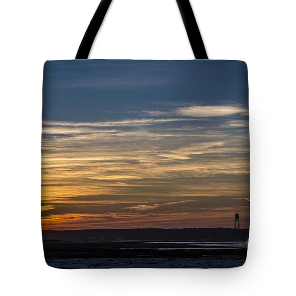 Biddeford Pool Maine Sunset Tote Bag