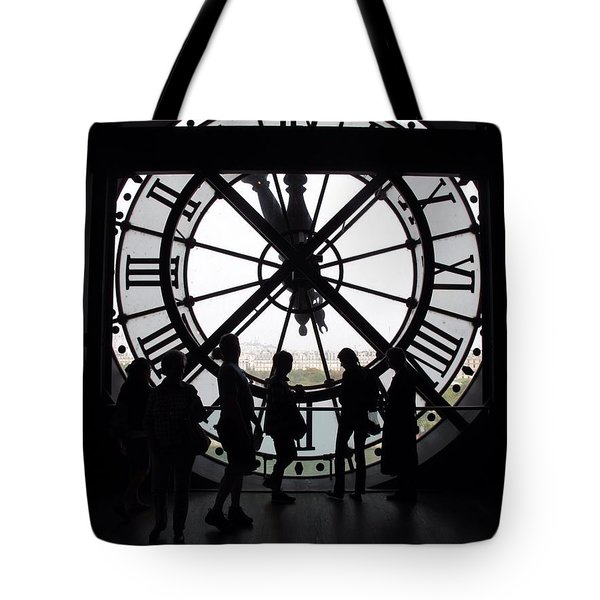 Biding Time Tote Bag by Mary Ellen Mueller Legault