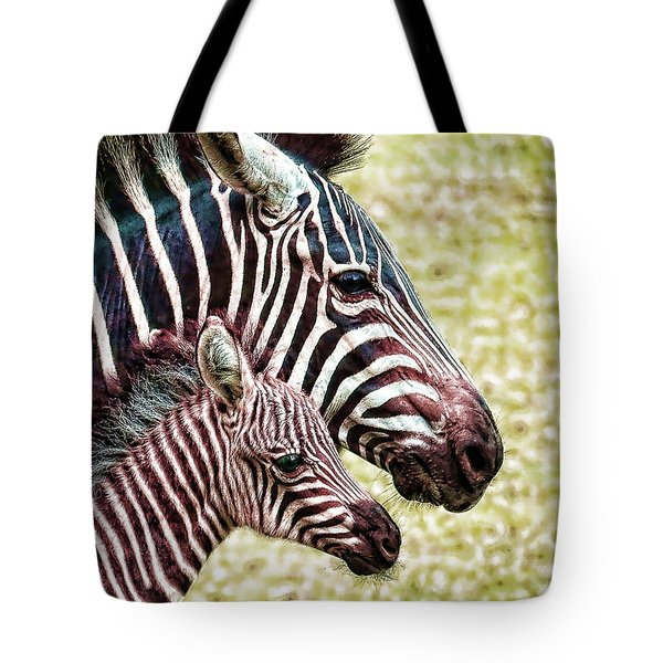Tote Bag featuring the photograph Big And Little by Jaki Miller