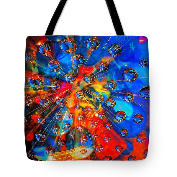 Big Bang Tote Bag by Rick Mosher