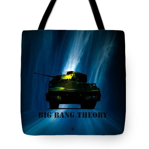 Big Bang Theory Tote Bag by Bob Orsillo