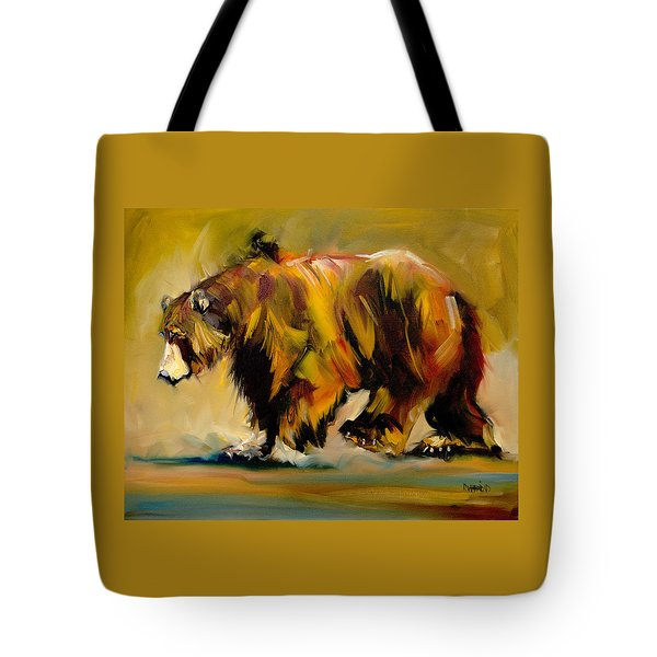 Big Bear Walking Tote Bag