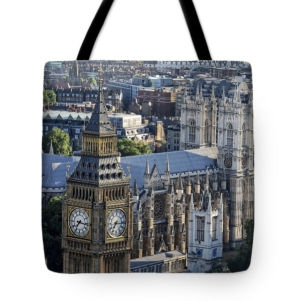 Big Ben And Westminster Tote Bag