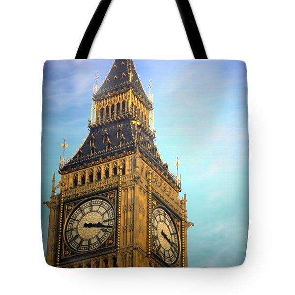 Big Ben Tote Bag by Joyce Dickens