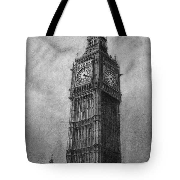 Big Ben London Tote Bag