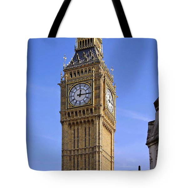 Tote Bag featuring the photograph Big Ben by Stephen Anderson