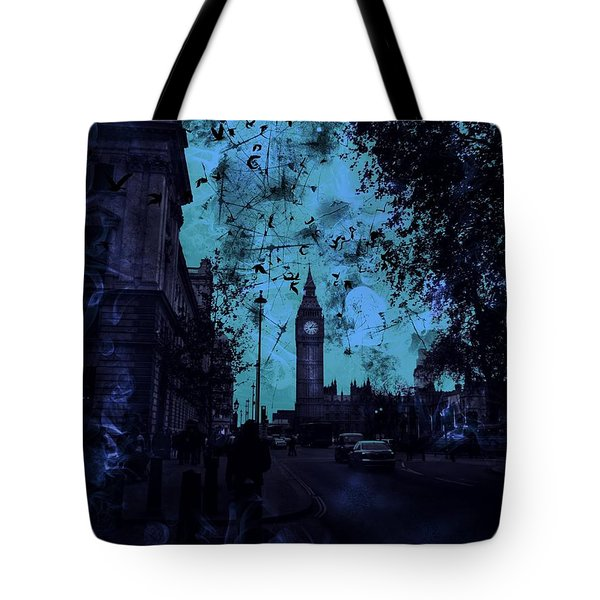 Big Ben Street Tote Bag