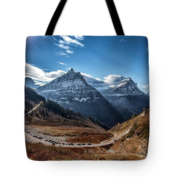 Tote Bag featuring the photograph Big Bend by Aaron Aldrich