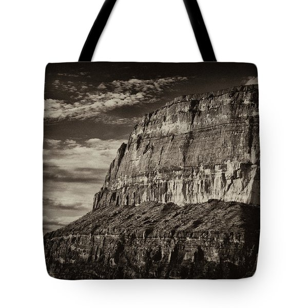 Big Bend Cliffs Tote Bag